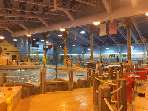 Amazing indoor water park in Ft St John