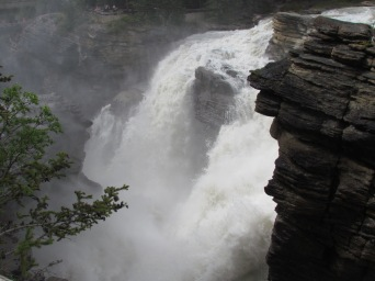 Athabasca Falls, Ice Roads Parkway