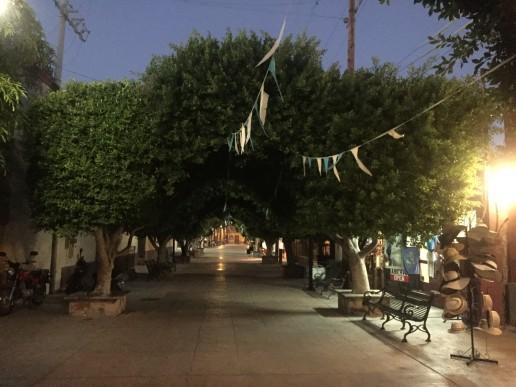 Plaza in Loreto